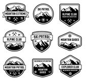 Mountain Vector insignias