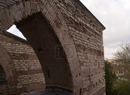 Photo pour Le détail architectural d'Aya Sofia, Istanbul, Turquie - image libre de droit