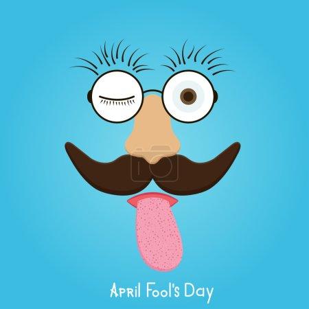 Illustration for Vector modern april fools day. Eps10 illustration - Royalty Free Image