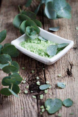 Eucalyptus and bath salt