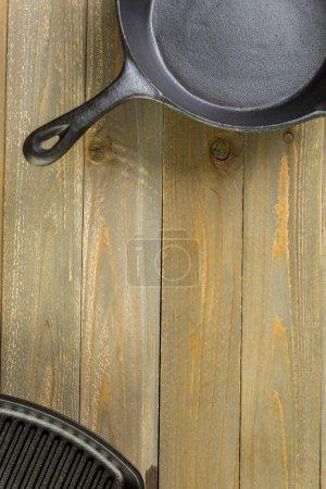 Cast iron skillets