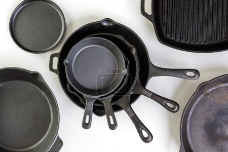 traditional cast iron skillets