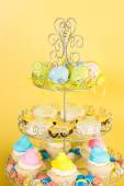 Dessert table with Easter cake