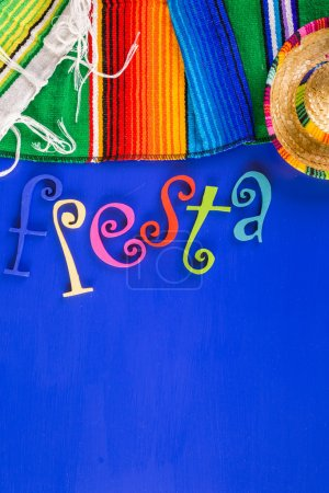 Fiesta traditional colorful table decorations