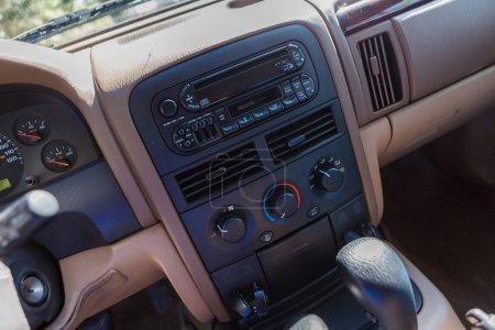 Custom built off road truck
