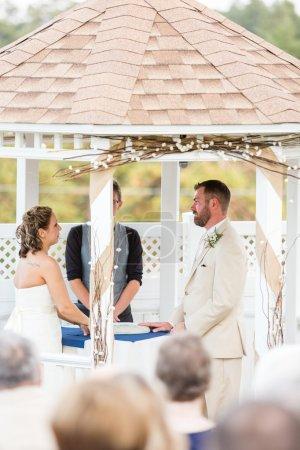 cérémonie de mariage en plein air
