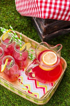 lemonade at Summer picnic
