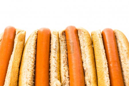 Traditional hot dogs
