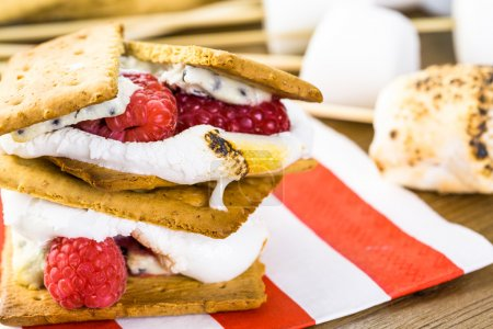 Smores with white chocolate