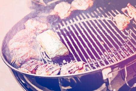 Summer outdoor cooking