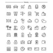Outline Travel Icons
