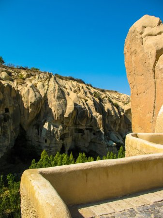 incredible rock formations Cappadocia Turkey