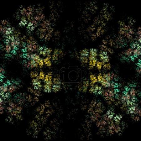 Photo pour Rendre l'illustration de bactéries colorées - image libre de droit