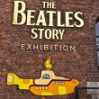 Постер, плакат: Beatles museum in Liverpool England