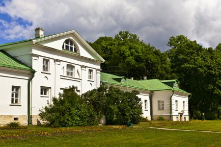 Volkonskiy mansion at the Leo Tolstoy's estate in Russia.