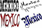 Ilustrace textu Mexiko