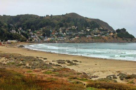 Photo pour San francisco. plage d'État Pacifica - image libre de droit
