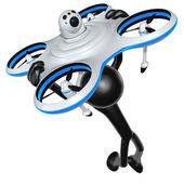 Letecká Drone koncept