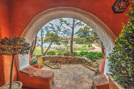 Arch in Porto Cervo