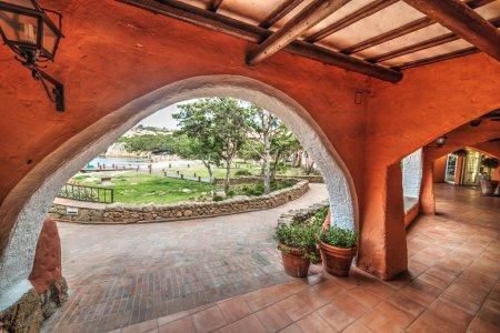 arches in Porto Cervo