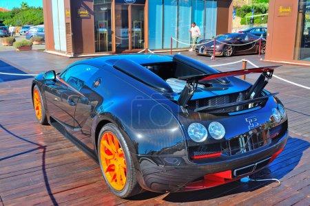 Бугатти Veyron в Порто Черво