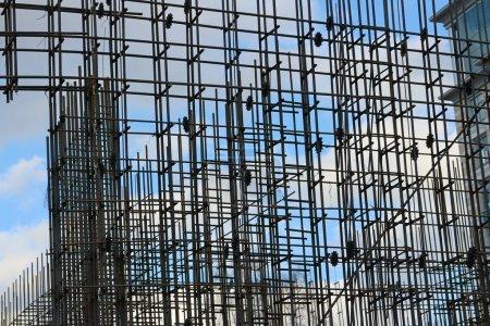 Building of steel reinforcement