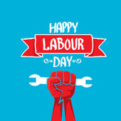 1 may - labour day vector labour day poster
