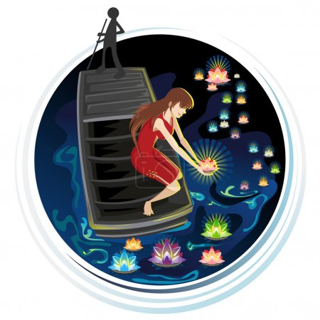 Spirit Festival Floating River Lanterns