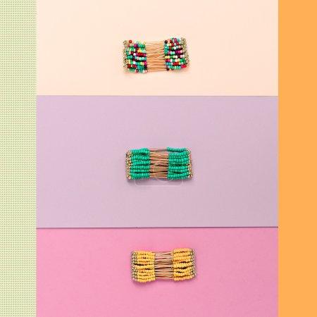 Ladies Stylish Accessories. Fashion Bracelets Set
