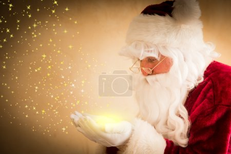 Photo for Santa Claus magic. Christmas holiday concept - Royalty Free Image