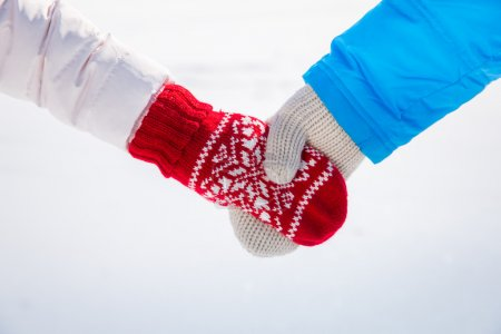 Photo for Couple Love Winter Fun Together - Royalty Free Image