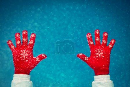 People Snow Winter