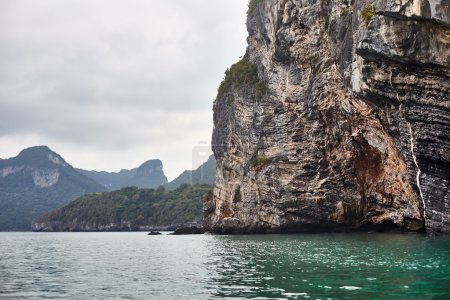 Rock in sea. Thailand