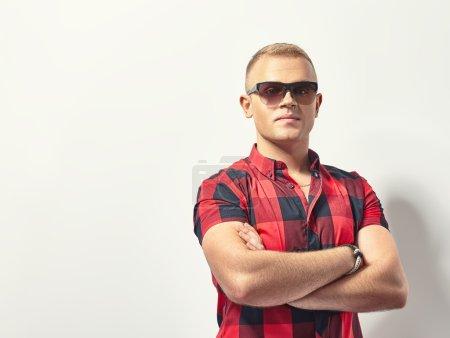 stylish hipster  man