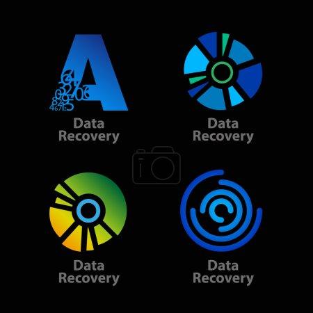 data recovery company logos