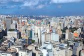 Downtown Sao Paulo aerial view