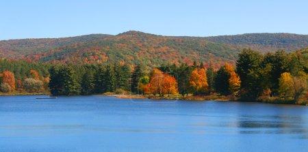 Allegheny river landscape