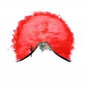Mountain Fuji volcano japanese art vector