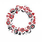 traditional european ukrainian wreath ornament rustic floral co