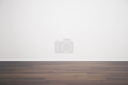 Empty wall in room