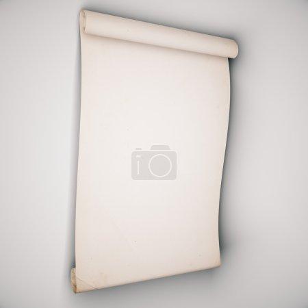 Paper on beige