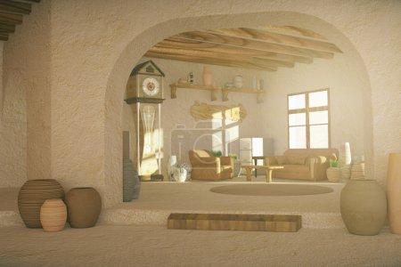 Rural interior design