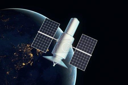 Satellite night time