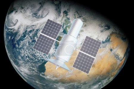Satellite day time