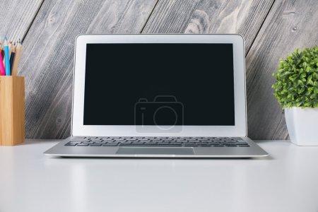 Nahaufnahme von Laptop