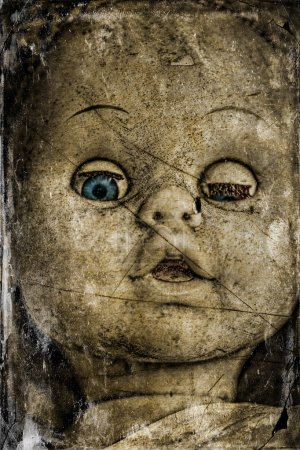 Spooky doll.