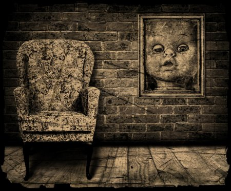 Spooky room.