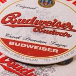 Prague,Czech Republic-December 3,2014:Beermats fro...