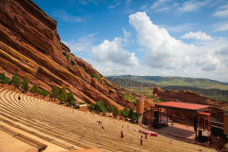 Famous Red Rocks Amphitheater in