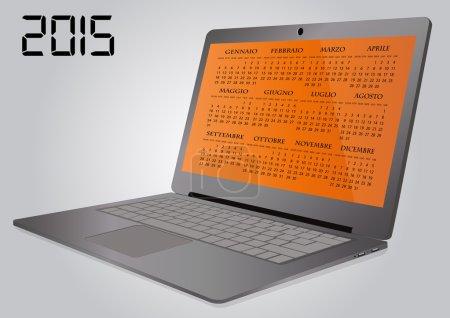 2015 calendar laptop